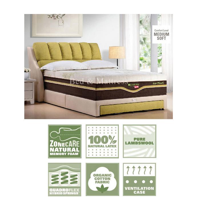 Slumberland Eco Plush 100 Natural Latex Mattress