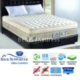 Spring Air Back Supporter Ultra Comfort 100% Blended Latex Mattress