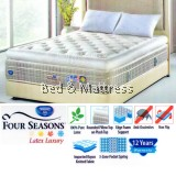 Spring Air Four Seasons Latex Luxury 3-Zone Pocket Spring Mattress