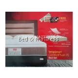 Slumberland TempSmart ComfortPlush FL + Brighton Bedframe Set