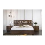 BD2738 Wooden Queen Bed