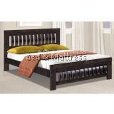 3533/3633W Wooden Queen Bed