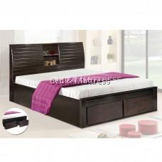 6522/6622 Wooden Queen Bed