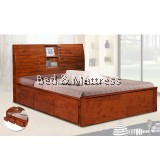 6523/6623 Wooden Queen Bed