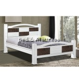 6537/6637 Wooden Queen Bed