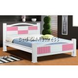 6538/6638 Wooden Queen Bed