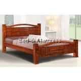 6539/6639 Wooden Queen Bed