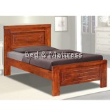 3332/3432 Wooden Single Bed