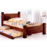 6301/6401 Wooden Single Bed