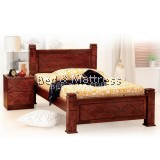 6307/6407 Wooden Single Bed