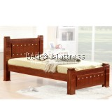 6309/6409 Wooden Single Bed