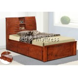 6323/6423 Wooden Single Bed