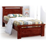 7330/7430 Wooden Single Bed