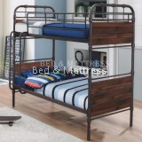 BTE11018 Verona Metal/Wood Bunk Bed