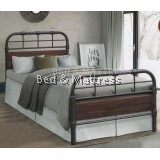 BTE11013/BTE11017 Verona Metal/Wood Bed Frame