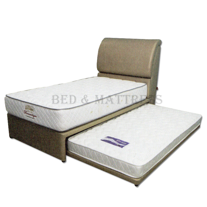 Goodnite 4002 3 in 1 multi function single divan bed with for Divan 3 4 bed
