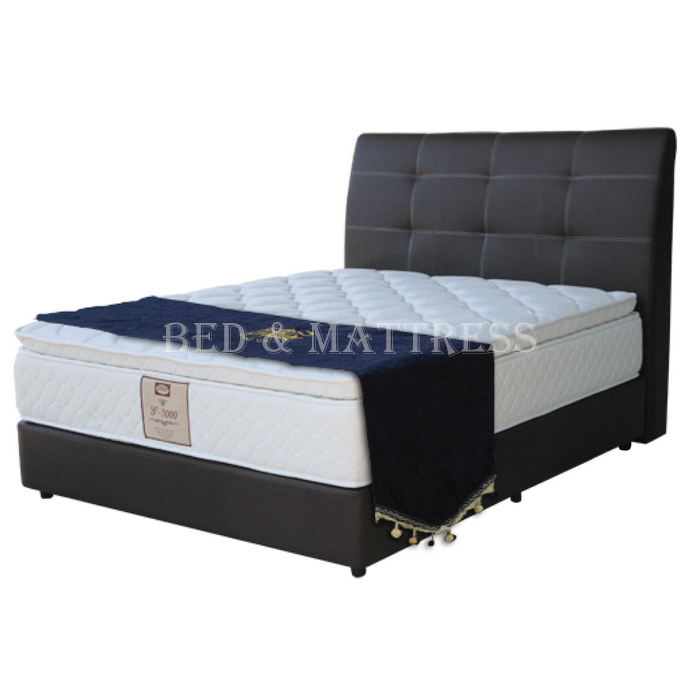Goodnite cs300 divan upholstered bed for Divan upholstered bed