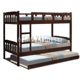 OBS 55DD Wooden Bunk Bed