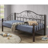 Curve Metal Day Bed