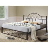 Lava Metal King Bed