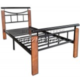 Grammy Metal/Wood Single Bed