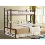 Bambe Twin/Full Metal Bunk Bed