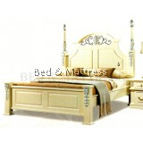 B54 Wooden Bed