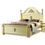B55  Wooden Bed